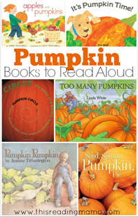 k-6 Pumpkin Reading Lesson Plans