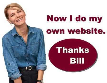 private web design tutor